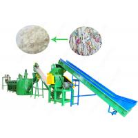 Buy cheap 150kw PP HDPE Plastic Bottle Crushing And Washing Machine 304 Stainless Steel from wholesalers