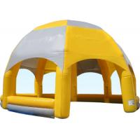 Buy cheap Big Party Inflatable Event Tent Silk Printing Plato PVC Tarpaulins For Outdoor Games from wholesalers