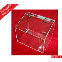 Buy cheap Rectangle Supermarket Acrylic Holder Stand  Transparent Plastic Cookie Box from wholesalers