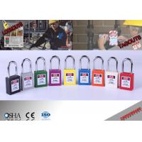 Buy cheap Steel Shackle Lock Out Padlocks from wholesalers