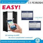 Buy cheap Wireless touch sensor door handle alarm gsm smart door alarm rf-v13 from wholesalers