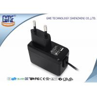 Buy cheap EN60950/60065 EU Plug Wall Mount Power Adapter with CE GS Safety Mark from wholesalers