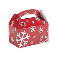 Buy cheap Custom Printed Christmas Paper Gift Boxes For Chocolate / Cookies Packing from wholesalers