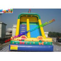 Buy cheap Water Proof Commercial Inflatable Bouncers / Inflatable Slip And Slide Fire Retardant from wholesalers