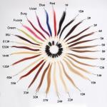 Buy cheap Hair Extension Color Wheel, 20 CM 31 Colors Hair Extension Color Wheel For Sale from wholesalers