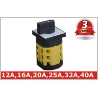 Buy cheap GG Type Round 40A Rotary Transfer Switch for ON OFF Main Power from wholesalers