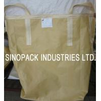 Buy cheap Powder goods trasportation Circular / Tubular building sand bulk bag from wholesalers