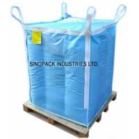 Buy cheap Baffle design dangerous chemical powder Storage Antistatic Fibc with sift proofing from wholesalers
