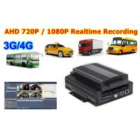 Buy cheap H.264 720 P AHD 3G Mobile DVR Car Black Box Recorder With WIFI GPS G sensor product