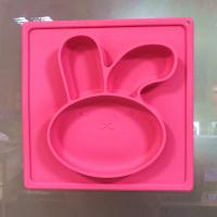 Buy cheap High Quality Silicone Suction Plate Baby Plate Mat Non Slip Placemats For Toddlers from wholesalers