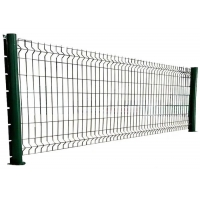 Buy cheap Square Post Welded Mesh Fencing from wholesalers