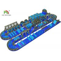 Buy cheap Big Outdoor Adult Inflatable Obstacle Challenging Sports Games Water Proof & Lead Free from wholesalers