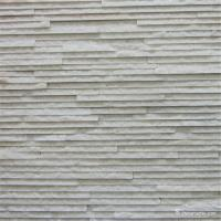 Buy cheap White Color Quartzite Stone Veneer For Wall Cladding Decoration Highly Durable from wholesalers