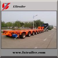 Buy cheap China made Multi axle 200 ton hydraulic modular low bed trailer from wholesalers