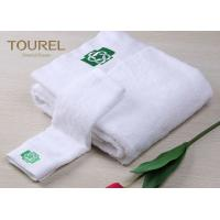 Buy cheap Good Quality Custom Soft Plain White100% Cotton Hotel hand/face/bath towels for bathroom from wholesalers