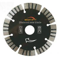 Buy cheap Wet Cutting Stone Segmented Diamond Blade With Customized Inner Hole Size from wholesalers