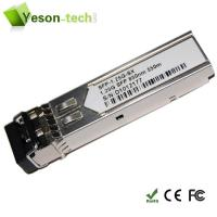 Buy cheap 1.25Gbps 850nm 550m MM 1000base-sx-sfp module from wholesalers