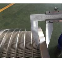 Buy cheap High-tech colored 600mm Stainless Steel Screen Basket for Pulp Industry from wholesalers