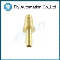 Buy cheap Thread Copper Hose Barb 8mm Port Size 22sf Series Rectus Plugs Collar Nut from wholesalers