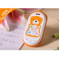 China SIRF Star III Bear Appearance Voice Monitoring Function Child Gps Tracker With 20 Channels on sale