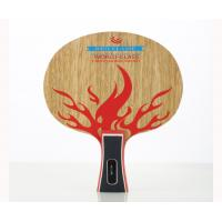 Buy cheap Personalised table tennis bat Red Flame Blade For Burning Passion from wholesalers
