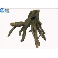 Buy cheap Smooth Bark Realistic Tree Stump Aquatic Ornament Large Fish Tank Decorations from wholesalers