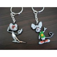 Buy cheap Nice Looking Custom PVC Keychains For Business , OEM Custom Shaped Keychains from wholesalers