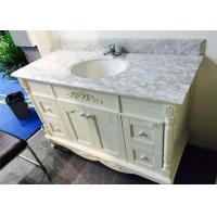 Buy cheap Angel White 40 Inch Bathroom Vanity With Top , Bathroom Sink And Cabinet from wholesalers