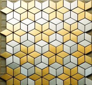 MI03 Stainless Steel Tile, Metal Mosaic Tile Pattern