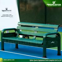 Buy cheap Green Powder Coated Aluminum Outdoor Bench from wholesalers