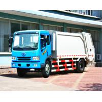 Buy cheap LHD / RHD Steering Garbage Truck With Compactor , 4x2 Refuse Compactor Truck from wholesalers