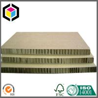 Buy cheap Strong Quality Honeycomb Paperboard Both Sides Brown Color; Honeycomb Board from wholesalers