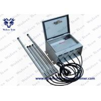Buy cheap 6 Bands Prison Jammer 530W Total RF Output With Wireless Control System product