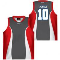 Buy cheap Singlet Custom Breathable Material Sublimated Basketball Uniforms from wholesalers
