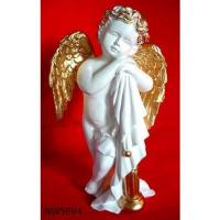 Buy cheap Resin figurine ,angel statues,polyressin cherub,reiligious crafts,religious figurines from wholesalers