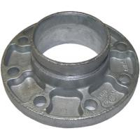 Buy cheap Cast Ductile Iron Grooved Pipe Fittings Grooved Quick Flange Adaptor for PE PVC Pipe from wholesalers