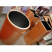Double Taper Copper Mould Tube Crystallizer Usage Continuous For Metal Casting