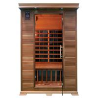 Buy cheap FIR sauna room with carbon heater made of canada red cedar from wholesalers