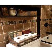 Buy cheap Bathroom Organization Toilet Paper Holder wood Crate from wholesalers