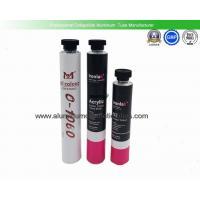Diameter 32mm  Empty Metal Paint Tubes , 100ml Cream Packaging Empty Aluminum Tubes