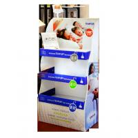 Buy cheap Pos Pillow Point Of Sale Display Rack / free standing cardboard displays from wholesalers