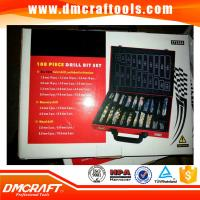 Buy cheap 108pcs combination hss twist,masonry,wood drill bit set from wholesalers