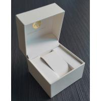 Buy cheap Wholesale Luxury Leather Single Watch Gift Box Packaging from wholesalers