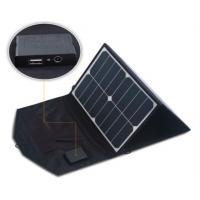 Buy cheap 39 Watt Solar Panel Phone Charger Auto Recovery Protected Color Variety Options from wholesalers