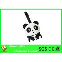 Buy cheap 3D Animal Silicone Gifts Soft Rubber PVC Luggage Name Tag , Printed Traveling Tags from wholesalers