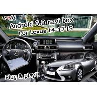 Buy cheap GPS Android navigation box Lexus IS200t IS300h knob mouse control waze youtube Google play from Wholesalers