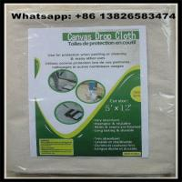 Buy cheap 260 GSM 12X15 Canvas Drop Cloth China Supplier,8oz/10oz/12oz available from wholesalers