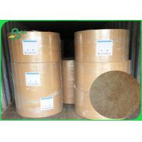 Buy cheap 68g / 73g /75g Tyvek Fabic Paper Brown Color For Make Clothing And Bedding Labels product