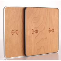 Buy cheap Cherry Wood 10W Qi Retractable Car Battery Charger Wireless Mobile Phone Charger from wholesalers