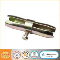 Buy cheap Scaffolding swivel coupler clamp for connecting scaffolding tubes 48.6X48.6mm from wholesalers